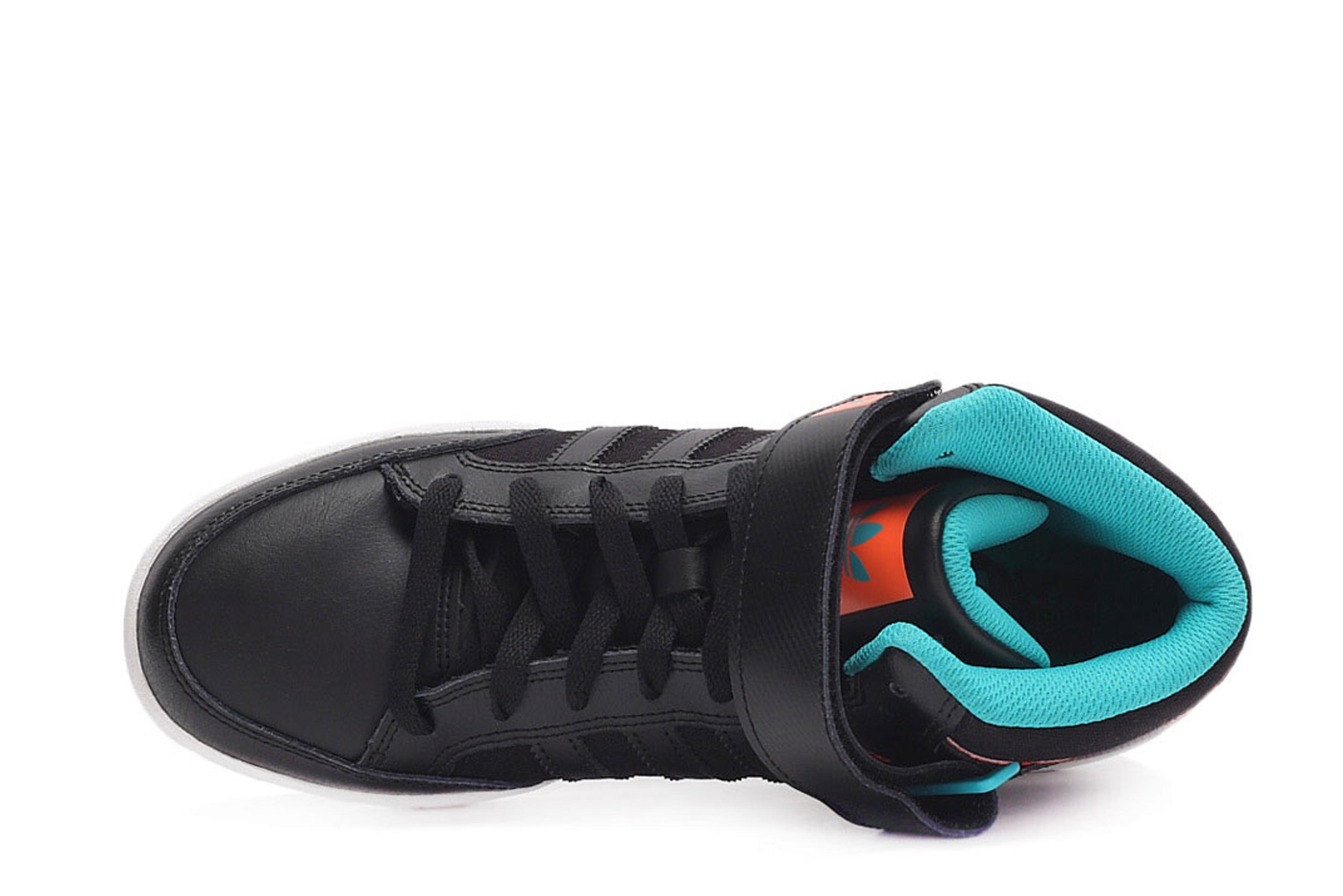 adidas originals Varial Mid High Top Sneakers Core Black/Footwear ...